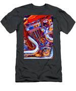 Psychodelic Chopper-1 Men's T-Shirt (Athletic Fit)