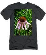 Sad Cone Flower Men's T-Shirt (Athletic Fit)