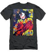 Scary Clown Men's T-Shirt (Athletic Fit)