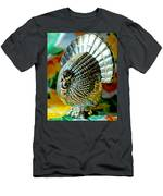 Silver Turkey Right Men's T-Shirt (Athletic Fit)