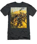 Spanish Conquistadors Men's T-Shirt (Athletic Fit)