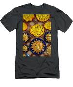 Sun Faces On The Island Of Capri Italy Men's T-Shirt (Athletic Fit)