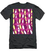 Swirly Stripe Men's T-Shirt (Athletic Fit)