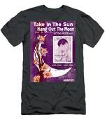 Take In The Sun Hang Out The Moon Men's T-Shirt (Athletic Fit)