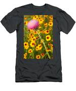 Thistle And Coreopsis 2am-110455 Men's T-Shirt (Athletic Fit)