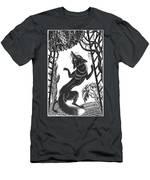 Aesop: Fox & Grapes Men's T-Shirt (Athletic Fit)