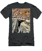 Bridge By Kaaterskill Falls 1 Men's T-Shirt (Athletic Fit)