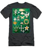 Chrismons Men's T-Shirt (Athletic Fit)