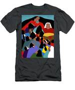 Earth Mother Men's T-Shirt (Athletic Fit)