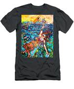 Rising To The Surface Like A Last Breath Last Scream Men's T-Shirt (Athletic Fit)