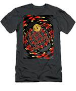 3d-concentric Planet  Men's T-Shirt (Athletic Fit)