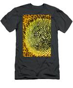 Flower Abstract Men's T-Shirt (Athletic Fit)