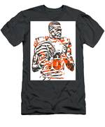 A J Green Cincinnati Bengals Pixel Art 5 Men's T-Shirt (Athletic Fit)