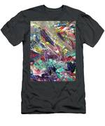 Abstract Jungle 7 Men's T-Shirt (Athletic Fit)