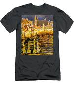 Amsterdam Netherlands  Men's T-Shirt (Athletic Fit)