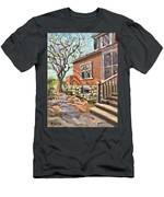 April Afternoon Light Men's T-Shirt (Athletic Fit)