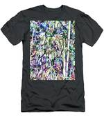 Bamboo Forest Background Men's T-Shirt (Athletic Fit)
