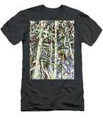 Bamboo Sprouts Forest Men's T-Shirt (Athletic Fit)
