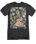 Bark Batik Ink #22 Men's T-Shirt (Athletic Fit)