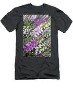 Beautiful Foxglove Men's T-Shirt (Athletic Fit)