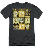 Bee Happy Men's T-Shirt (Athletic Fit)