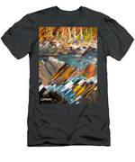 Boulders In The River Men's T-Shirt (Athletic Fit)