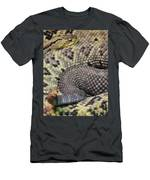 Central American Rattlesnakee Men's T-Shirt (Athletic Fit)