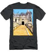Chateau Saumur, A Long Way Up Men's T-Shirt (Athletic Fit)
