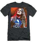 Cliff Burton Portrait Men's T-Shirt (Athletic Fit)