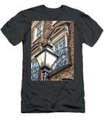 Colonial Lamp And Window Men's T-Shirt (Athletic Fit)