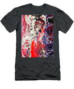Color Burst Men's T-Shirt (Athletic Fit)