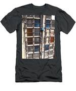 Colored Door Men's T-Shirt (Athletic Fit)