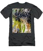 Creek Running Through Moss-covered Stones 1 Men's T-Shirt (Athletic Fit)