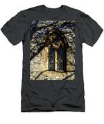 Cricket St Thomas Church Window Men's T-Shirt (Athletic Fit)