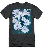 Daisies Galore Men's T-Shirt (Athletic Fit)