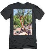 Dancing Trees Men's T-Shirt (Athletic Fit)