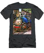 Darjeeling Toy Train Men's T-Shirt (Athletic Fit)