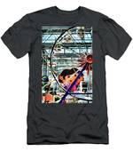 El Circulo De Cielo Ferris Wheel Men's T-Shirt (Athletic Fit)