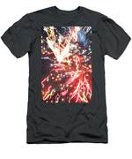 Fire Confetti Men's T-Shirt (Athletic Fit)