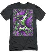 Fire Escape Fractal Men's T-Shirt (Athletic Fit)