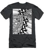 Fish Kiss Men's T-Shirt (Athletic Fit)