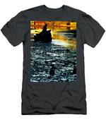 Fishing In The Pond Men's T-Shirt (Athletic Fit)
