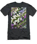 Foxglove Fancy Men's T-Shirt (Athletic Fit)