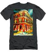 French Quarter Corner Men's T-Shirt (Athletic Fit)