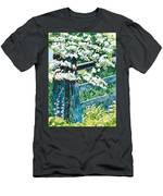 Gate And Blossom Men's T-Shirt (Athletic Fit)