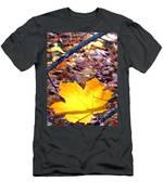 Golden Leaf Men's T-Shirt (Athletic Fit)