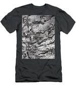 Gray Bark Men's T-Shirt (Athletic Fit)