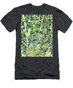 Green Bamboo Tree Men's T-Shirt (Athletic Fit)