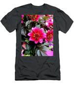 Highlands Ranch Floral Study 1 Men's T-Shirt (Athletic Fit)