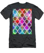 Holiday Colors - Christmas Pattern Men's T-Shirt (Athletic Fit)